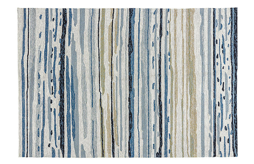 Perry Outdoor Rug Blue Outdoor Rugs Rugs One Kings Lane