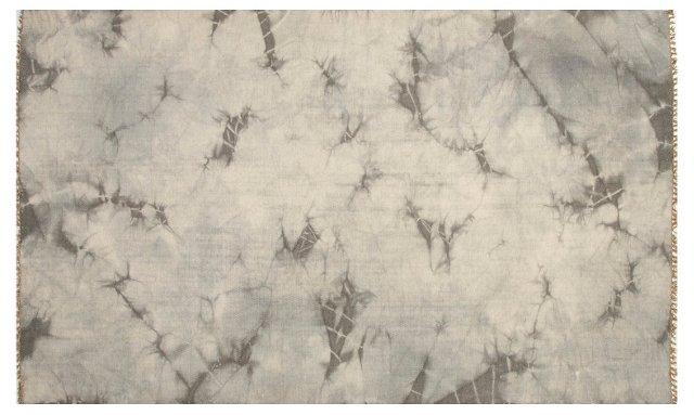 Macey Flat-Weave Rug, Gray/Ivory