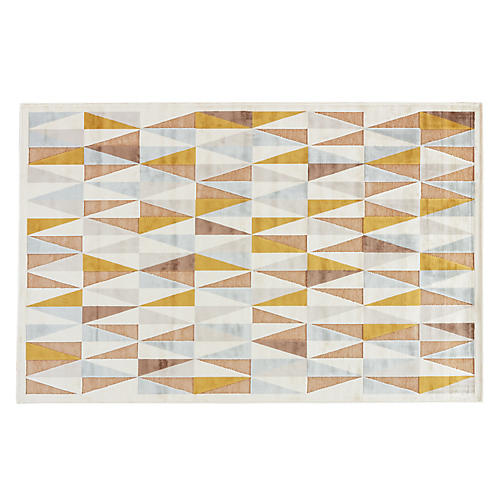 Renner Rug, Ivory/Taupe