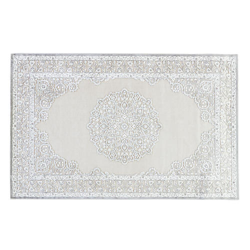 Sawyer Rug, Ivory/Gray