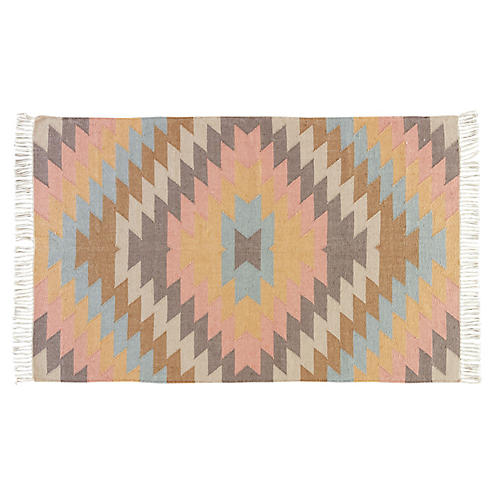 Dixie Outdoor Rug, Orange