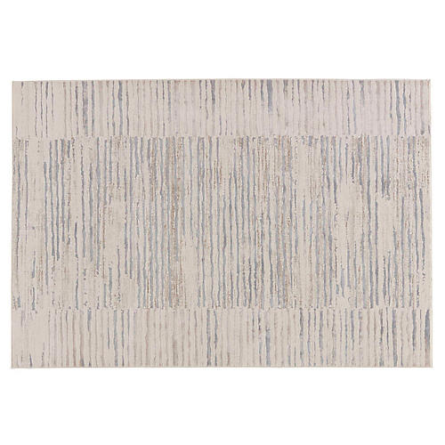 Sorrill Rug, Blue/Gray