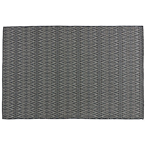 Jaxon Outdoor Rug, Gray/Black