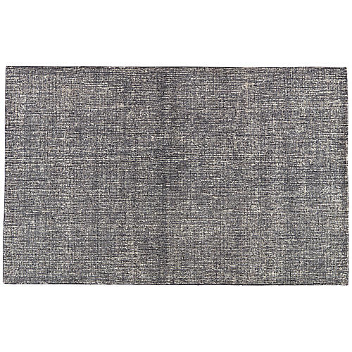 Frome Rug, Blue/Gray