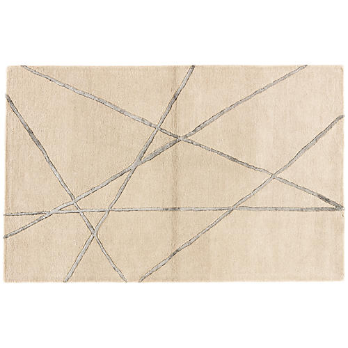 Roxborough Rug, Cobblestone/Pewter