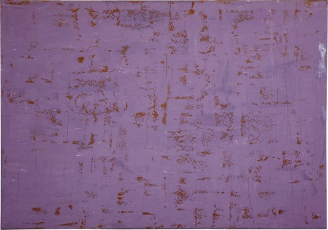 Purple Gesso Painting