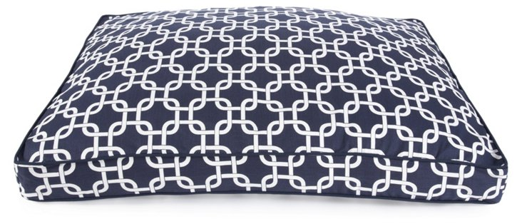 Rectangle Pillow Bed, Marine