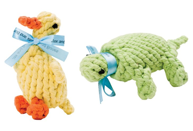 Duck & Turtle Rope Toys