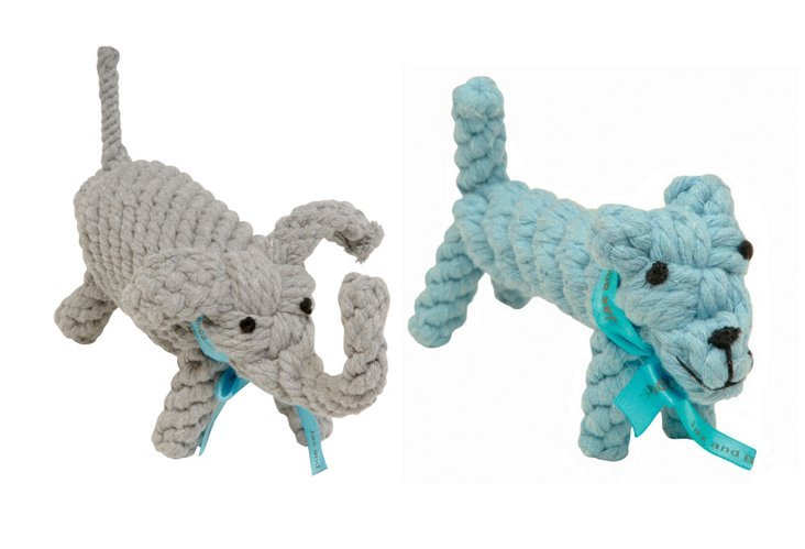 Dog & Elephant Rope Toys