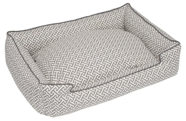 Hera Lounge Bed, Gray