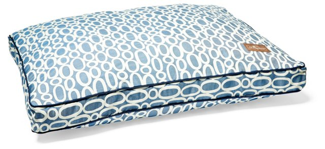 Blue Loop Pillow Bed