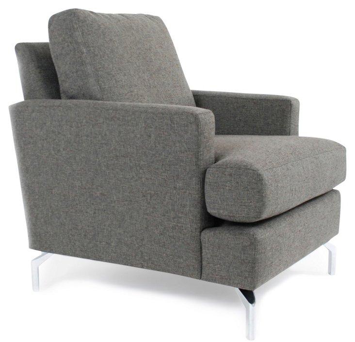 Jefferson Chair, Gray