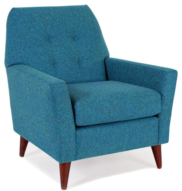 Shelby Chair, Blue