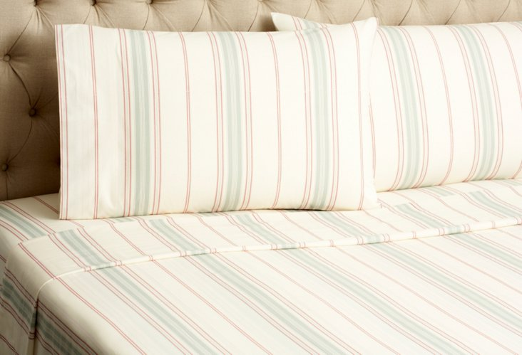 Minotte Striped Sheet Set