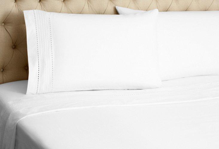 Pinefore Sheet Set, White