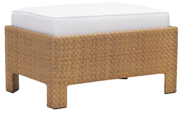 La Palma Ottoman w/ Cushion