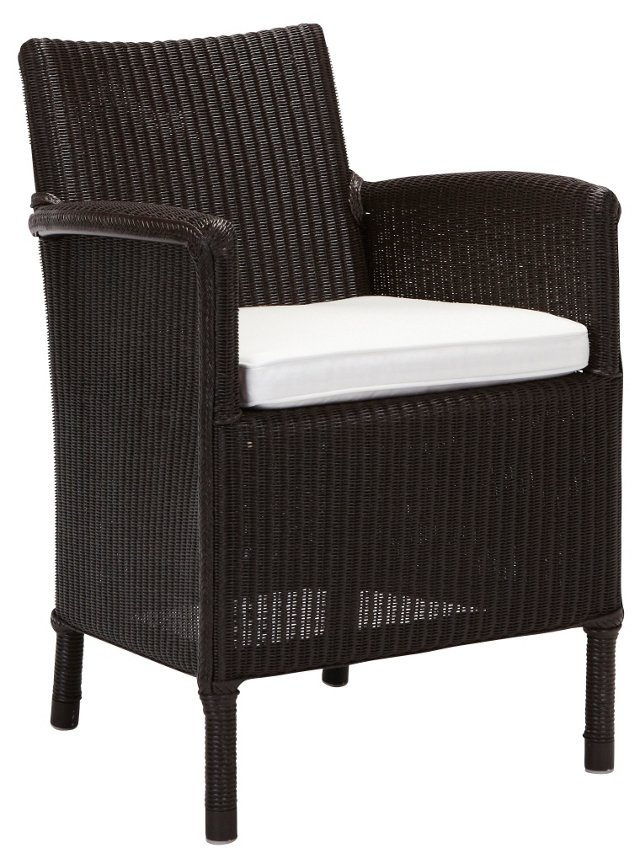 Deauville Dining Chair, Espresso