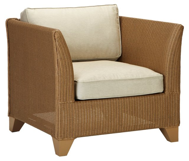 Veneto Lounge Chair, Natural