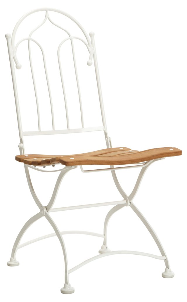 Vienna Side Chair, White