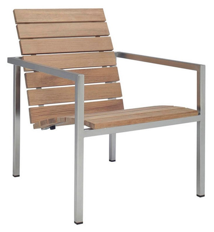 DNU, Dis Natal Teak Lounge Chair
