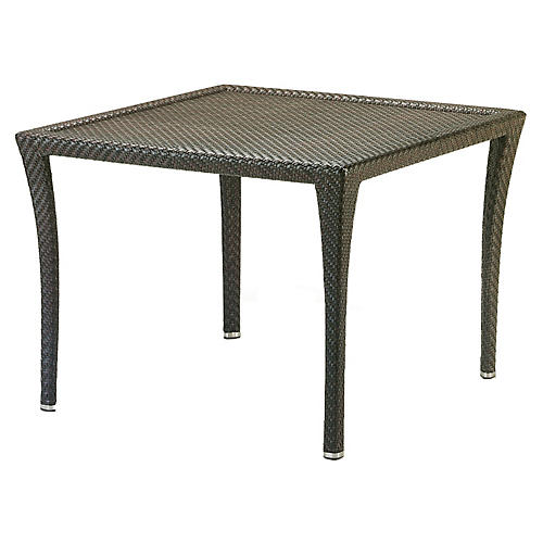 Bonneville Square Dining Table, Brown