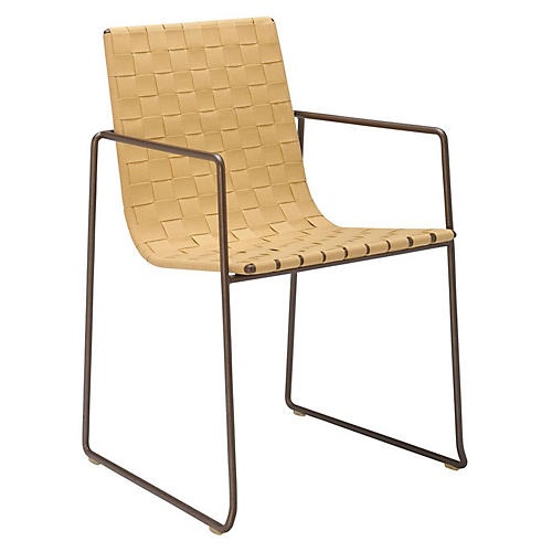 Trenza Armchair, Earth/Sand