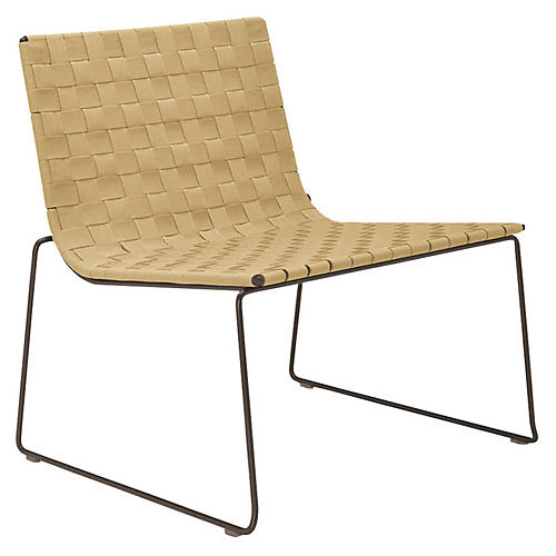 Trenza Accent Chair, Earth/Sand