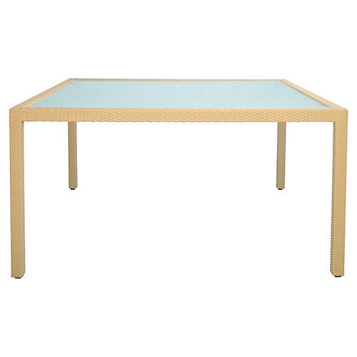 Continental Dining Table, Beige
