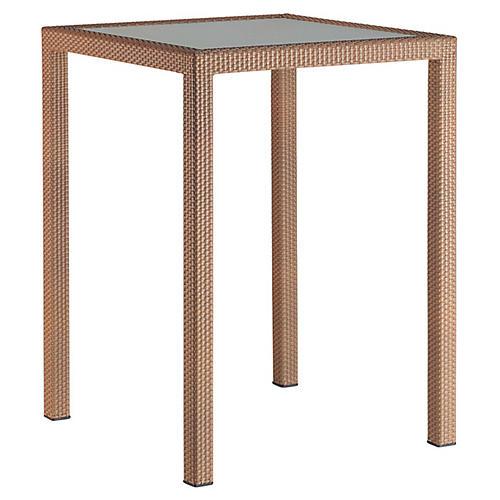 Panama Bar Table, Natural