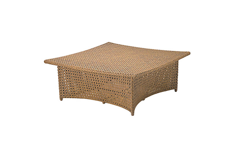 Daydream Square Coffee Table, Natural