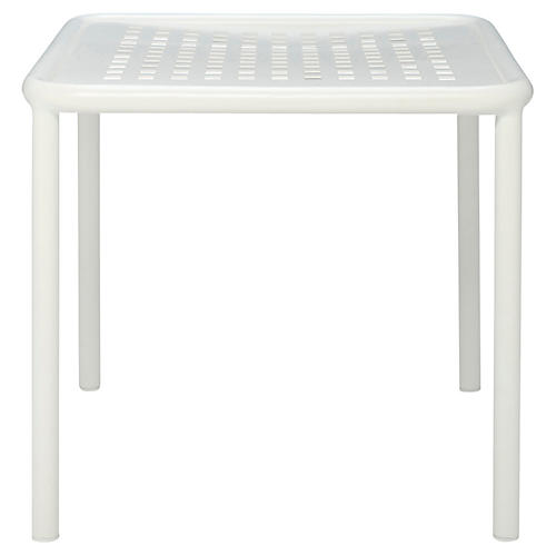 Viola Side Table, White