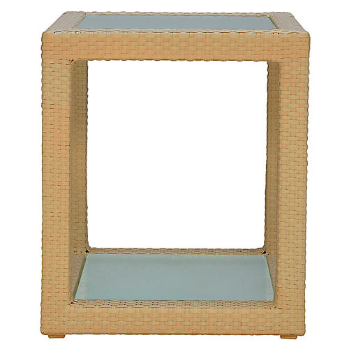 Ascona Side Table, Pecan