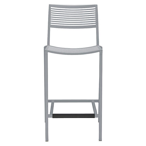 Easy Counter Stool, Silver