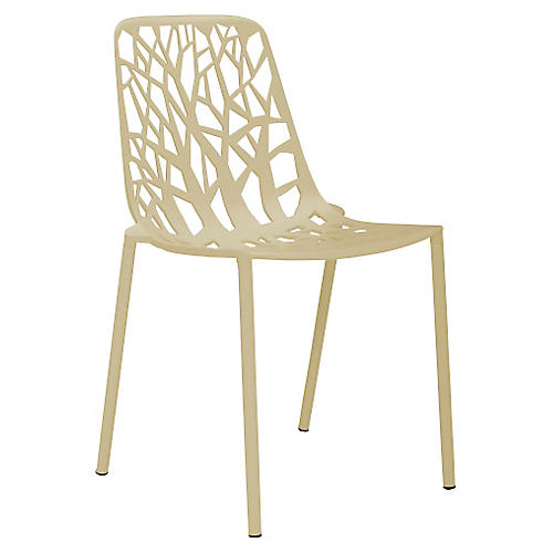 Forest Side Chair, Beige