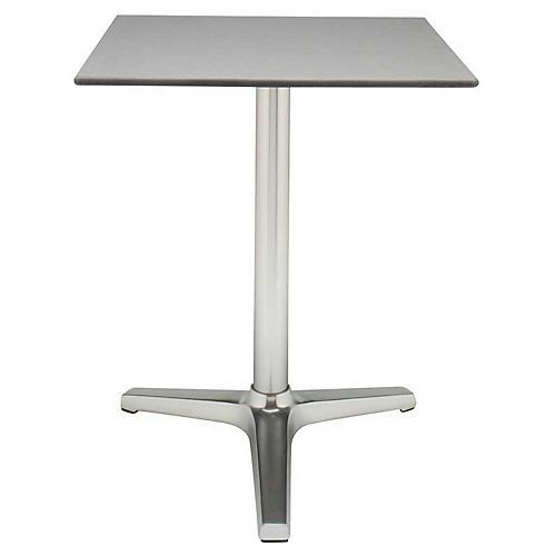 Sicilia Bistro Table, Silver