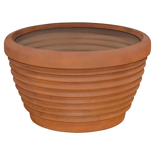"30"" Hydria Planter, Iron Rust"