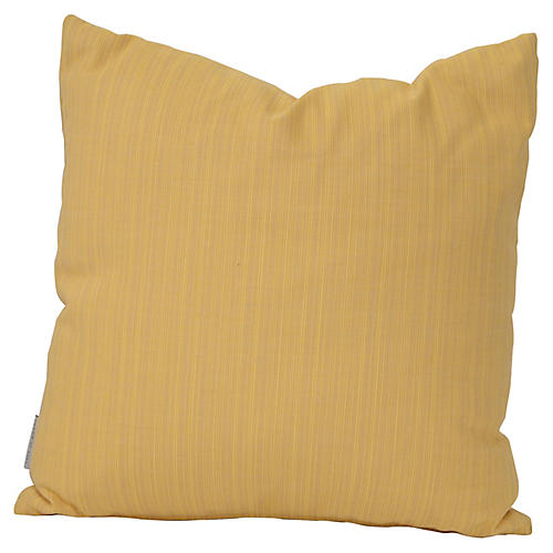 Outdoor 18x18 Toss Pillow, Canary