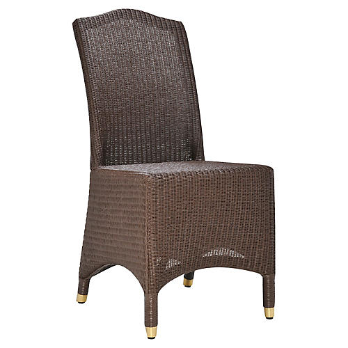 Napoleon Side Chair, Chocolate