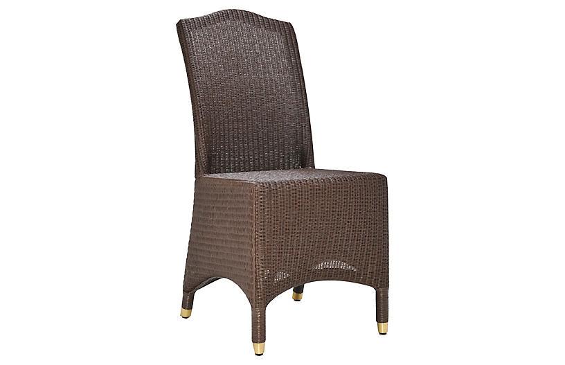 Napoleon Side Chair, Chocolate