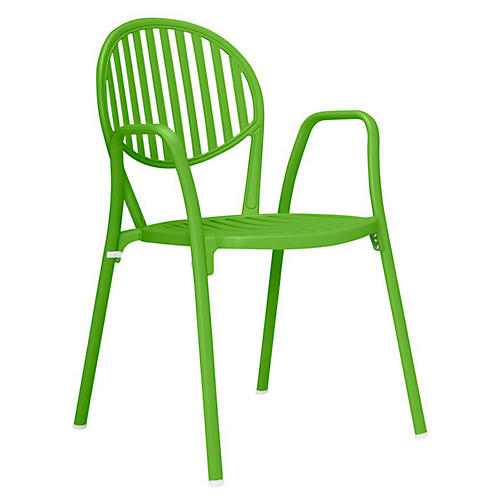 Olympia Armchair, Acid Green