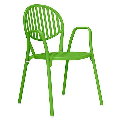 Olympia Armchair, Acid Green