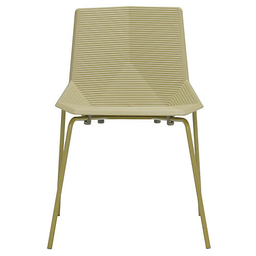 Green Side Chair, Olive Green
