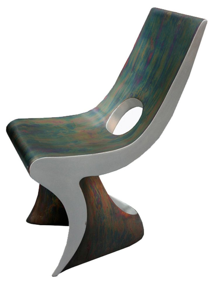 Patinated Isis Chair