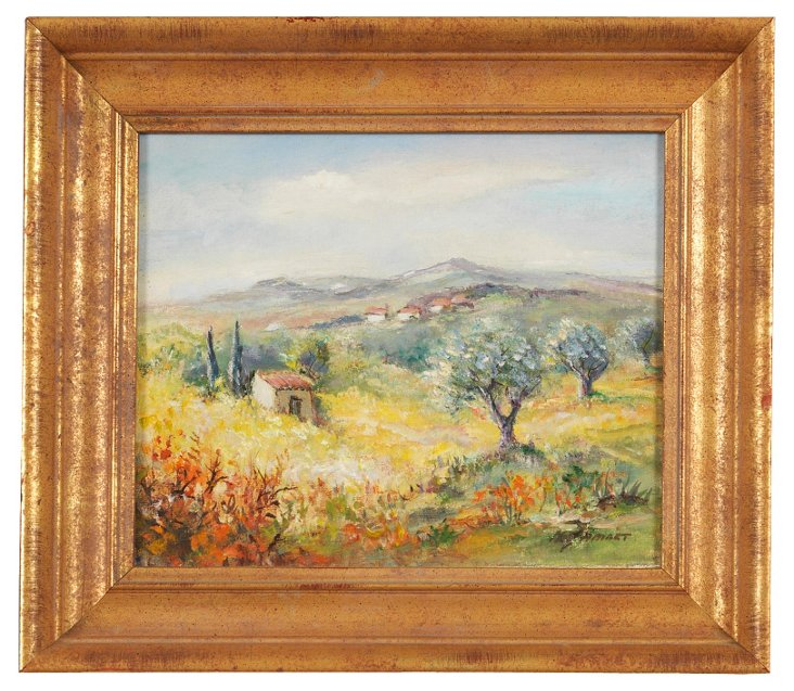 Michel Jamart Painting, Provence