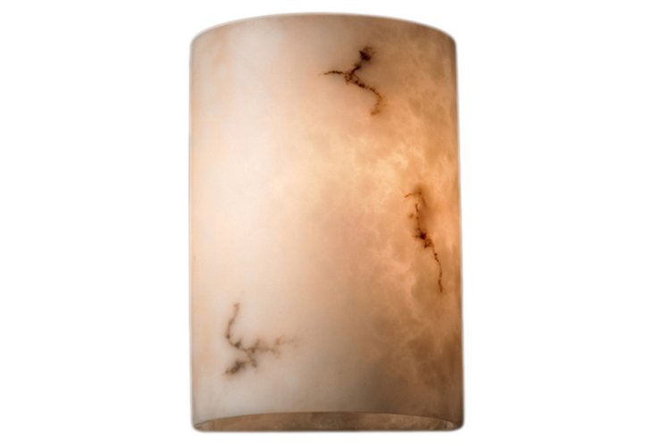 Milan 2-Light Small Cylinder Wall Sconce