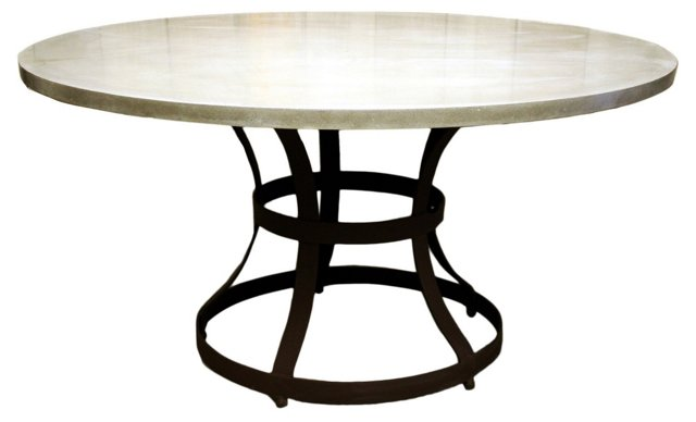 Hourglass Cage Dining Table