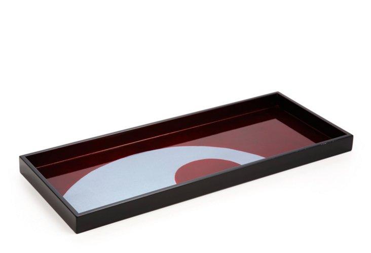 Lacquer Tray, Color Blocks