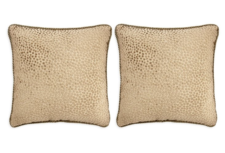 Mozambique 19 x 19 Pillow, Pair