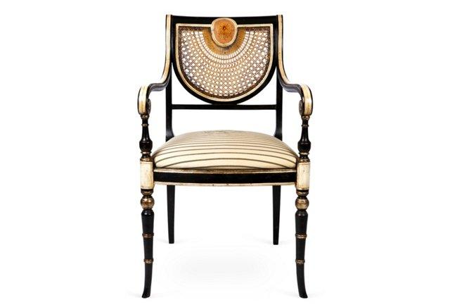 Colmar Chair, Black