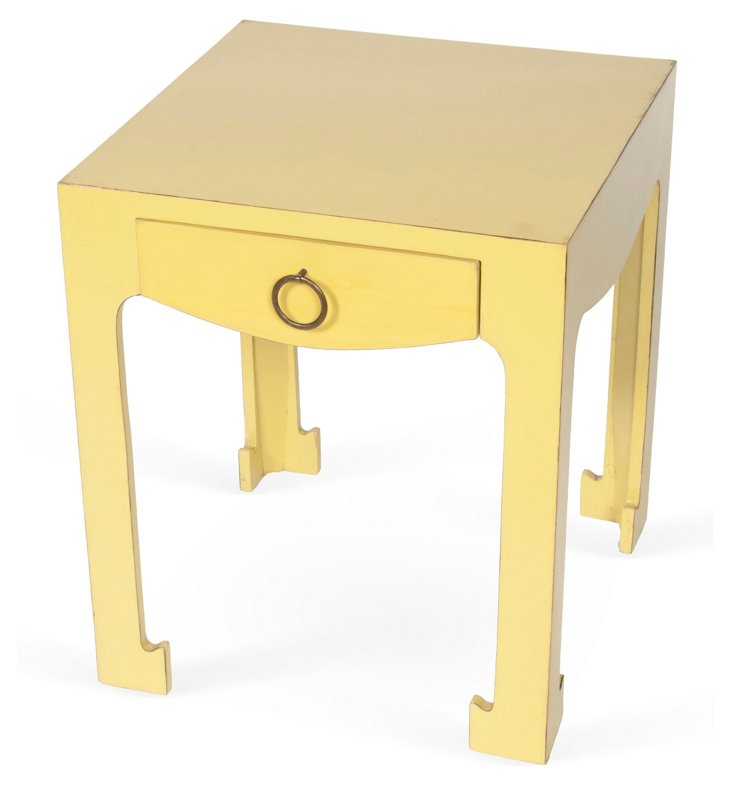 Frank-Style Side Table w/ Drawers